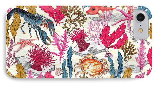 Sea Bed IPhone Case by Jacqueline Colley