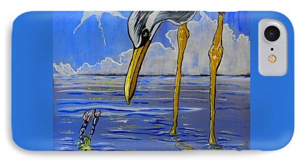 Sea Birds IPhone Case by W Gilroy