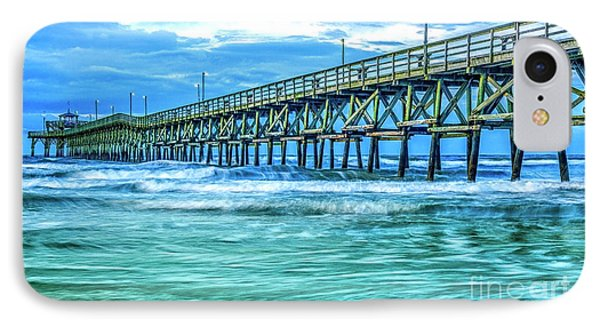 Sea Blue Cherry Grove Pier IPhone Case
