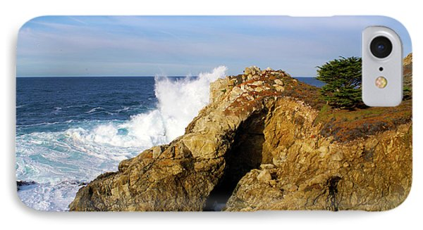 IPhone Case featuring the photograph Sea Cave Big Sur by Floyd Snyder