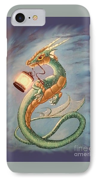 Sea Dragon And Lantern IPhone Case