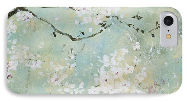 IPhone Case featuring the painting Sea Foam by Laura Lee Zanghetti