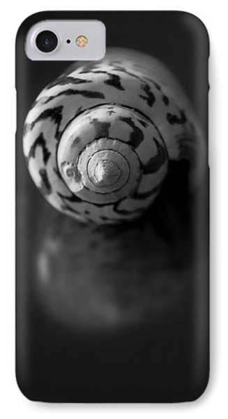 Sea Gem In Black And White IPhone Case by Maggie Terlecki