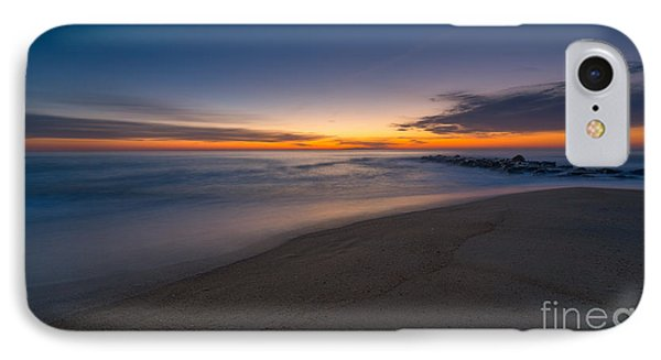 Sea Girt Sunrise New Jersey  IPhone Case by Michael Ver Sprill