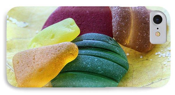 Sea Glass In Foliage Colors IPhone Case