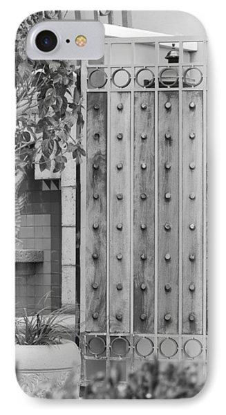 Sea Horse Gate Phone Case by Rob Hans