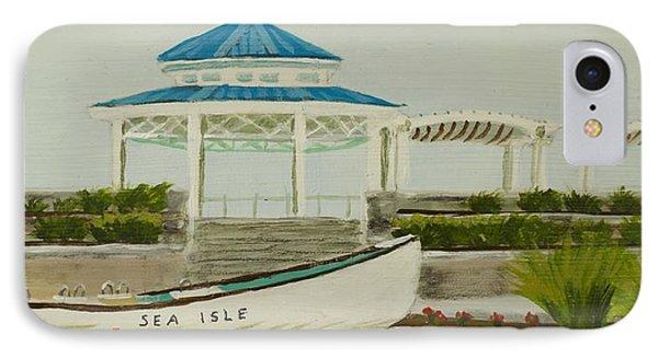 Sea Isle City New Jersey Gazebo IPhone Case by Patty Kay Hall
