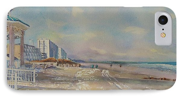 Sea Isle City New Jersey IPhone Case by Patty Kay Hall