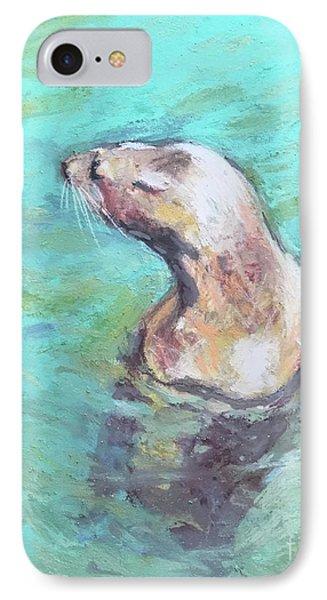 Sea Lion IPhone Case by Yoshiko Mishina