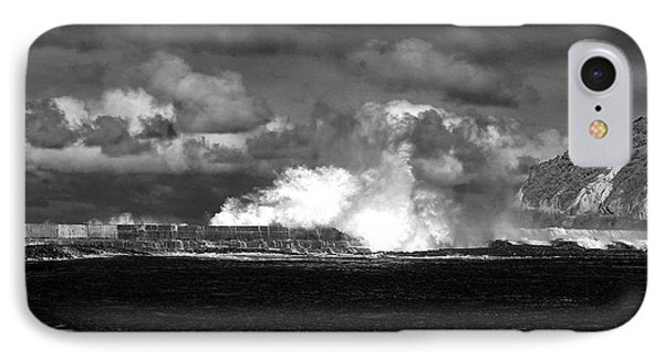 IPhone Case featuring the photograph Sea Meets Sky by Nareeta Martin