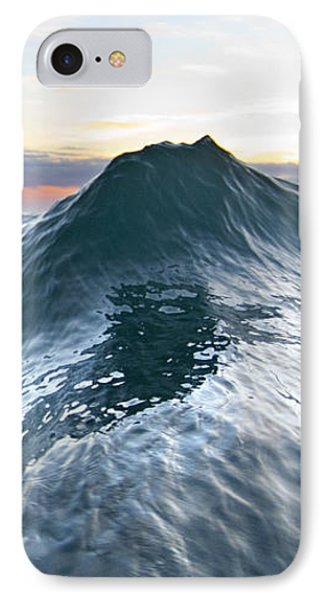 Sea Mountain -  Part 2 Of 3 IPhone Case by Sean Davey