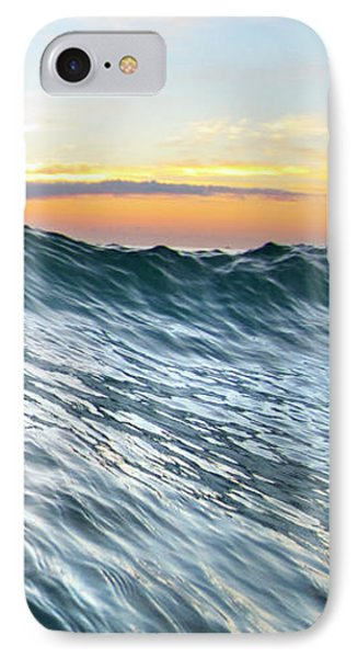 Sea Mountain - Part 3 Of 3 IPhone Case by Sean Davey