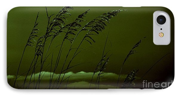 Sea Oat And Clouds IPhone Case by Janice Spivey