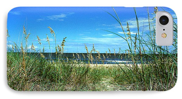 Sea Oat Dunes 11d IPhone Case by Gerry Gantt