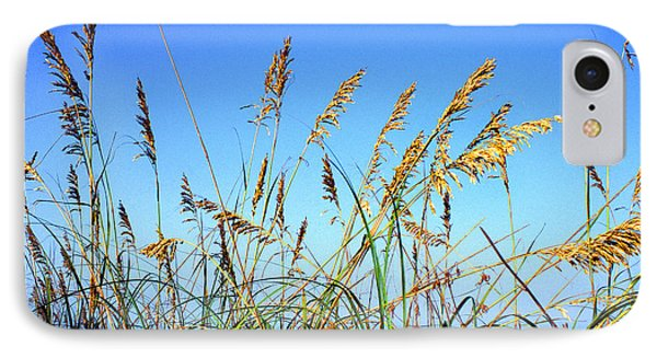 Sea Oats And Sea Phone Case by Thomas R Fletcher