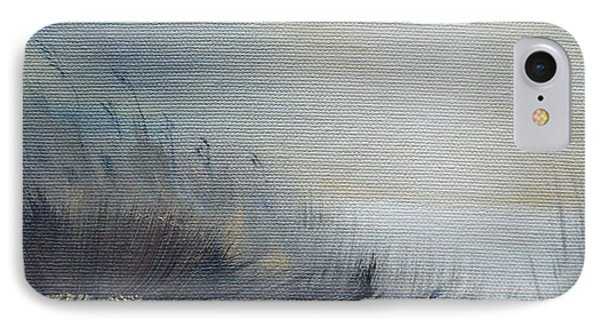 IPhone Case featuring the painting Sea Oats by Judith Rhue