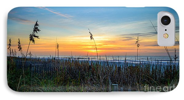 Sea Oats Sunrise IPhone Case