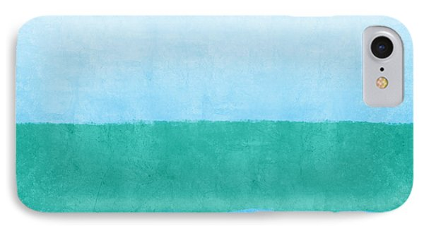 Shore iPhone 7 Case - Sea Of Blues by Linda Woods