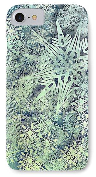 Sea Of Flakes IPhone Case by AugenWerk Susann Serfezi
