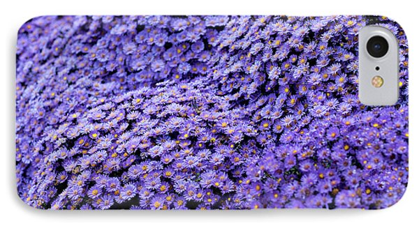 Sea Of Lavender Flowers IPhone Case by Todd Klassy