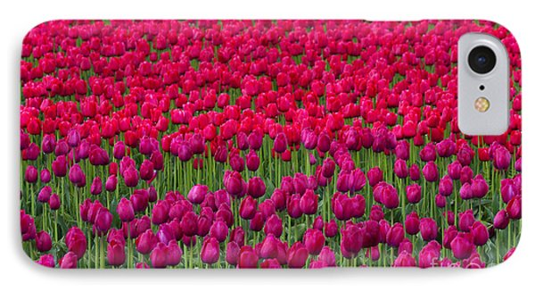 Sea Of Tulips Phone Case by Mike  Dawson