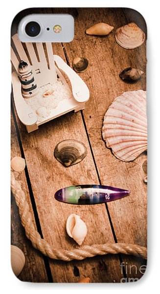 Sea Shell Decking IPhone Case