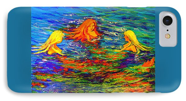 Sea Sisters Revisited IPhone Case by Jeanette Jarmon