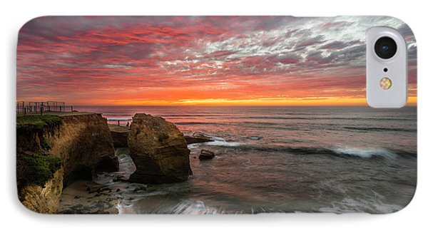 Sea Stack Sunset IPhone Case by Scott Cunningham