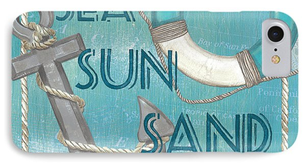 Sea Sun Sand IPhone Case