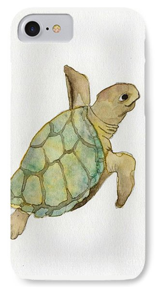 Sea Turtle IPhone Case by Annemeet Hasidi- van der Leij