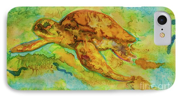 Sea Turtle Phone Case by Jacqueline Phillips-Weatherly