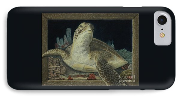 Sea Turtle IPhone Case by Jennifer Watson