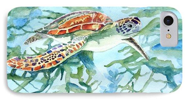 Sea Turtle Series #1 IPhone Case