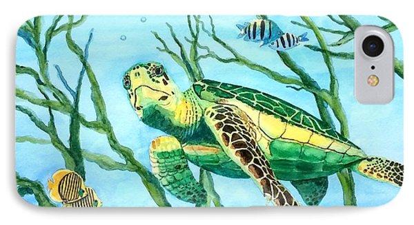 Sea Turtle Series #3 IPhone Case