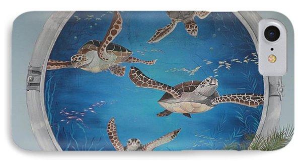 Sea Turtles Phone Case by Rob Hans