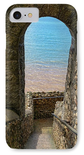 IPhone Case featuring the photograph Sea View Arch by Scott Carruthers