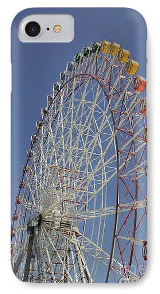 Seacle Rinku Pleasure Town Ferris Wheel IPhone Case by Andy Smy