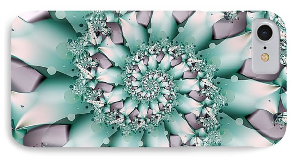 Seafoam Spring IPhone Case by Michelle H