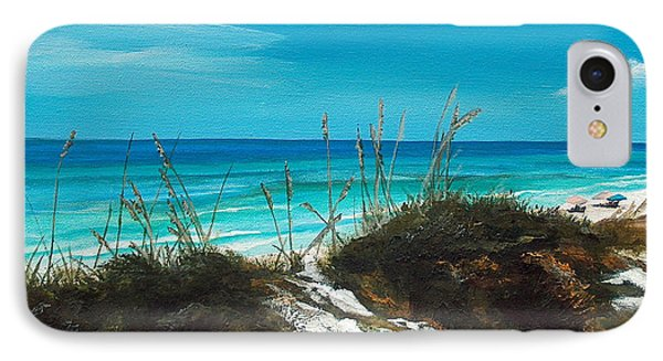 Seagrove Beach Florida Phone Case by Racquel Morgan