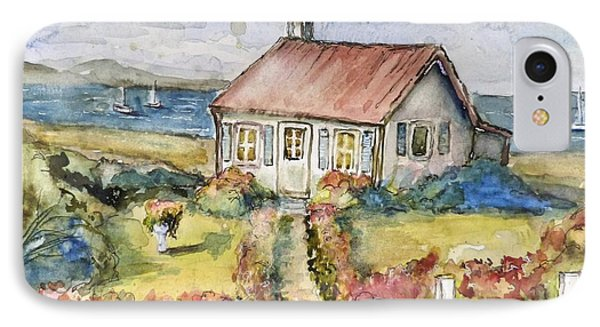 Seagull Cottage IPhone Case by P Maure Bausch