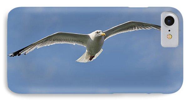 Seagull Patrol Phone Case by Steev Stamford
