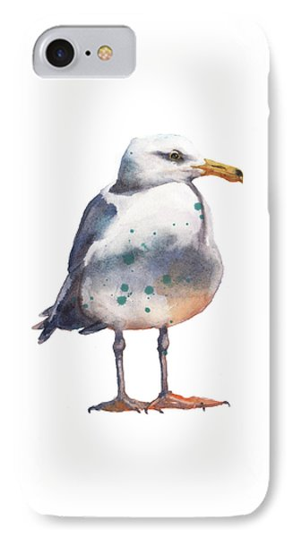 Seagull Print IPhone Case by Alison Fennell