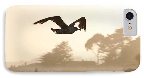 Seagull Sihlouette Phone Case by Marilyn Hunt