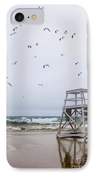 Seagulls IPhone Case by Margie Hurwich
