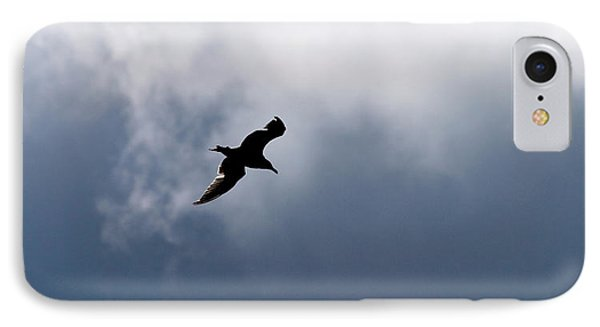 IPhone Case featuring the photograph Seagull's Sky 1 by Jouko Lehto