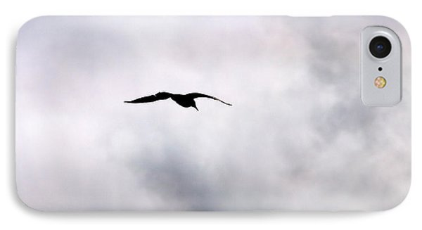 IPhone Case featuring the photograph Seagull's Sky 2 by Jouko Lehto