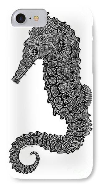 Seahorse Phone Case by Carol Lynne
