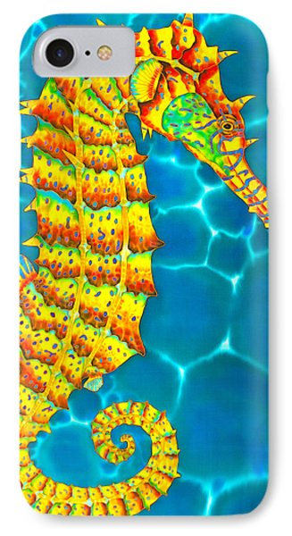 Seahorse iPhone 7 Case - Seahorse - Exotic Art by Daniel Jean-Baptiste
