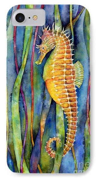 Seahorse iPhone 7 Case - Seahorse by Hailey E Herrera