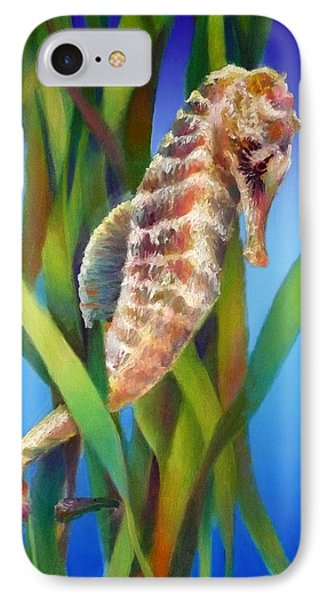 Seahorse I Among The Reeds IPhone Case
